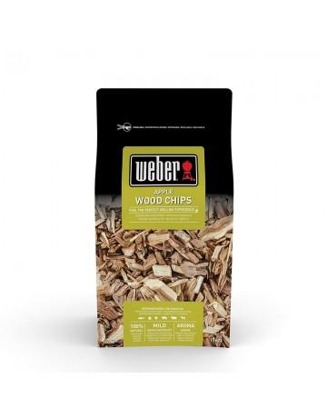 Ξύλα καπνίσματος Weber wood chips με άρωμα μήλου (Ψάρι, Πουλερικά, Χοιρινό, Λαχανικά) - 17621