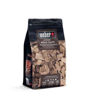 Ξύλα καπνίσματος Weber wood chips Hickory (Πουλερικά, Χοιρινό, Αρνί, Βοδινό) - 17624