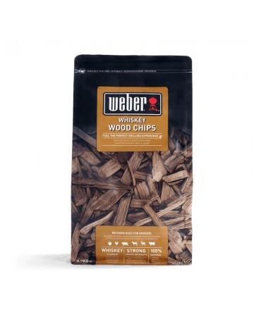 Ξύλα Καπνίσματος Weber wood chips Whiskey - 17627