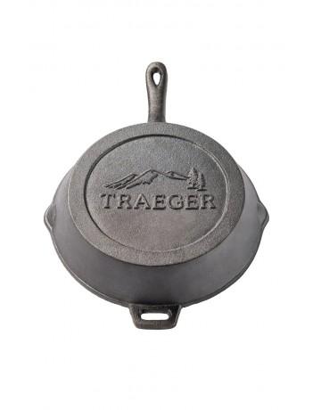 Μαντεμένιο τηγάνι Δ. 27εκ Traeger® - BAC383