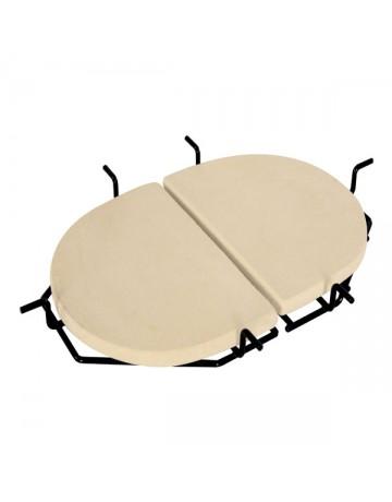 Σχάρα για κεραμικές θερμόπλακες PRIMO Oval XL  333