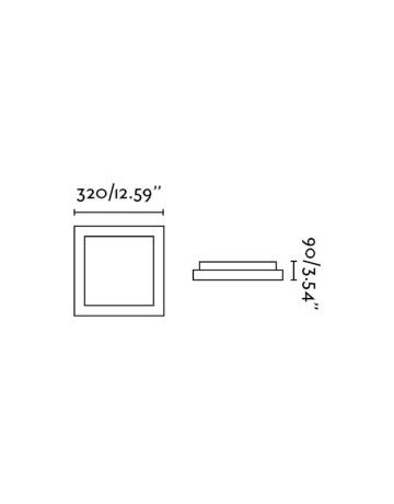 Φωτιστικό Μπάνιου Faro 62969