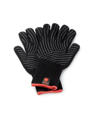 Μαύρα Γάντια Ψησίματος Weber Με Σιλικόνη S/M - 6669