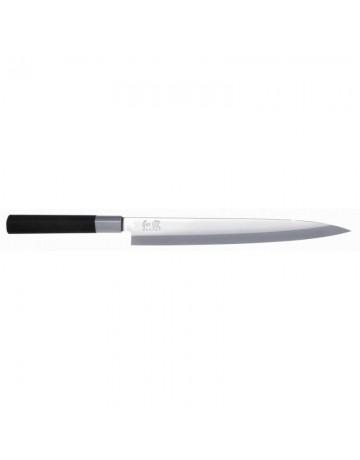 Μαχαίρι Yanagiba 24 εκ. Wasabi Black KAI 6724Y