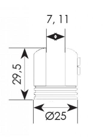 Βάση κρυστάλλων Zogometal 951/60