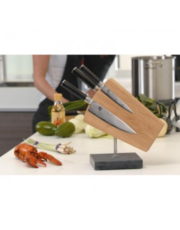 Μπλοκ Μαχαιριών Κουζίνας 6 Θέσεων με Μαγνήτη ΚΑΙ - DM-0794