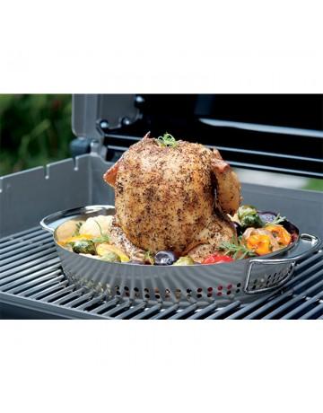 Ειδικό σκεύος GBS Weber Poultry Roaster για το ψήσιμο πουλερικών - 8838