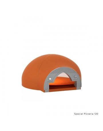 Επαγγελματικός ξυλόφουρνος για Pizza χειροποίητος - Alfa Special Pizzeria 120cm Wood FSP120C image 1