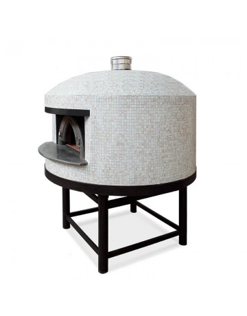 Επαγγελματικός Φούρνος Αερίου για Pizza Χειροποίητος- Alfa Napoli M150 Gas FRNAPO-G150 image 1