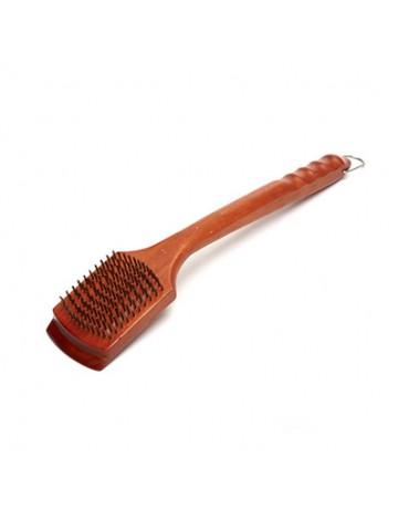 Ξύλινη βούρτσα καθαρισμού 46cm - GrillPro® Broil King 70255