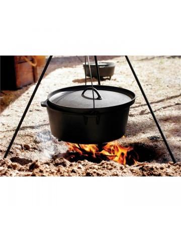 Τρίποδο Camping Για Μαντεμένιο Σκέυος Dutch Oven Lodge 3TP2