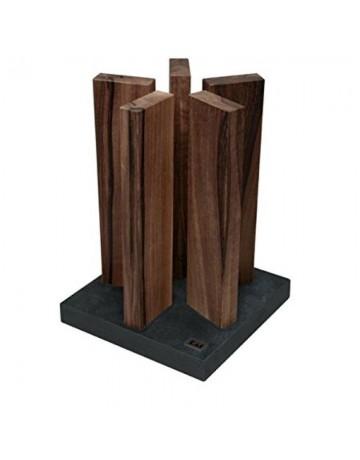 Μπλοκ Μαχαιριών Stonehenge Walnut 10 Θέσεων ΚΑΙ - STH-4
