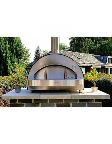 Οικιακός Ξυλόφουρνος για Pizza - Alfa 4 Pizze Copper Top FX4P-LRAM-T - image 1