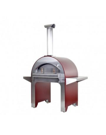 Ξυλόφουρνος Alfa 4 Pizze Red FX4P-LROA-B (Πληρωμή έως 24 άτοκες δόσεις)