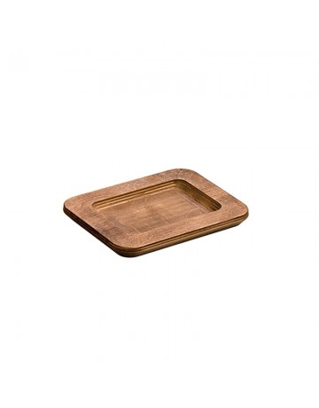 Ορθογώνια ξύλινη βάση  Δ: 19cm - LODGE®  UMSRC