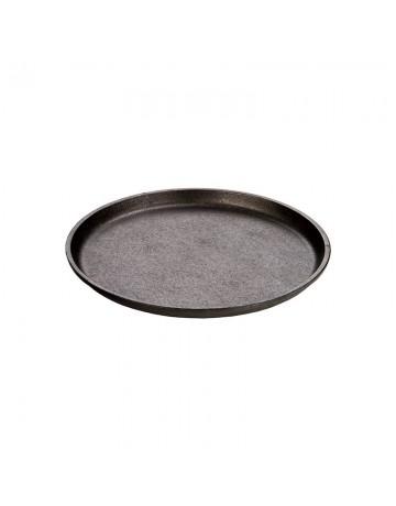 Μαντεμένια Στρογγυλή πλάκα ψησίματος/σερβιρίσματος Δ23,50 - LODGE® L7OGH3