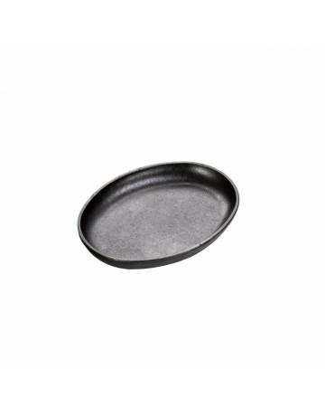Μαντεμένια Οβάλ πλάκα ψησίματος/σερβιρίσματος Δ 25.22 εκ - LODGE® LOSH3