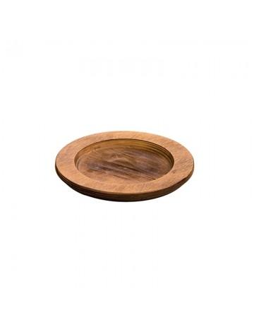 Στρογγυλή ξύλινη βάση  Δ: 20,10cm - LODGE®  U3RP