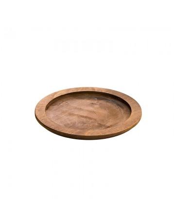 Στρογγυλή ξύλινη βάση Δ 28,50 εκ - LODGE® U7RP