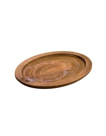 Μεγάλη οβάλ ξύλινη βάση Δ 38.74 εκ - LODGE® UJOP