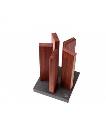 Μπλοκ Μαχαιριών Stonehenge Redwood 10 Θέσεων ΚΑΙ - STH-1